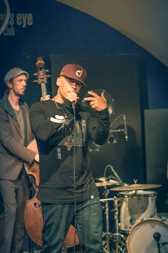 Hiphop meets Jazz 2015 im Birds Eye Basel